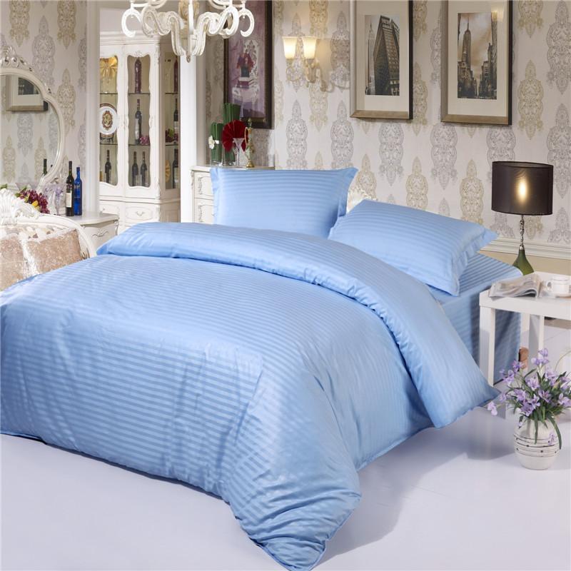 100 Cotton Stripe Duvet Cover Set ,Hotel Bedding Duvet Set