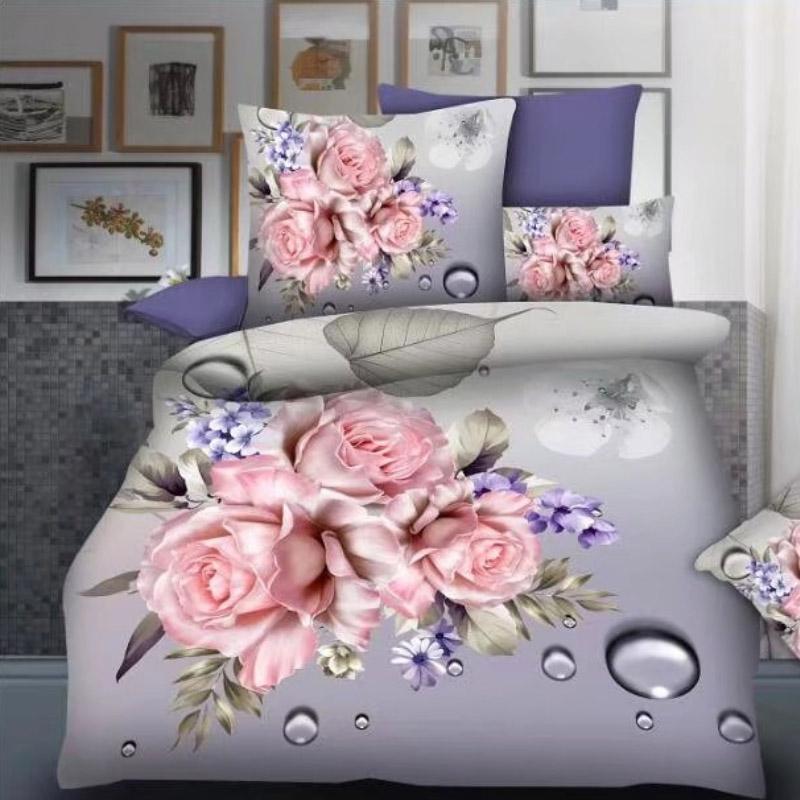 3D Bed Sheet Wholesale ,Microfiber Set Bedding