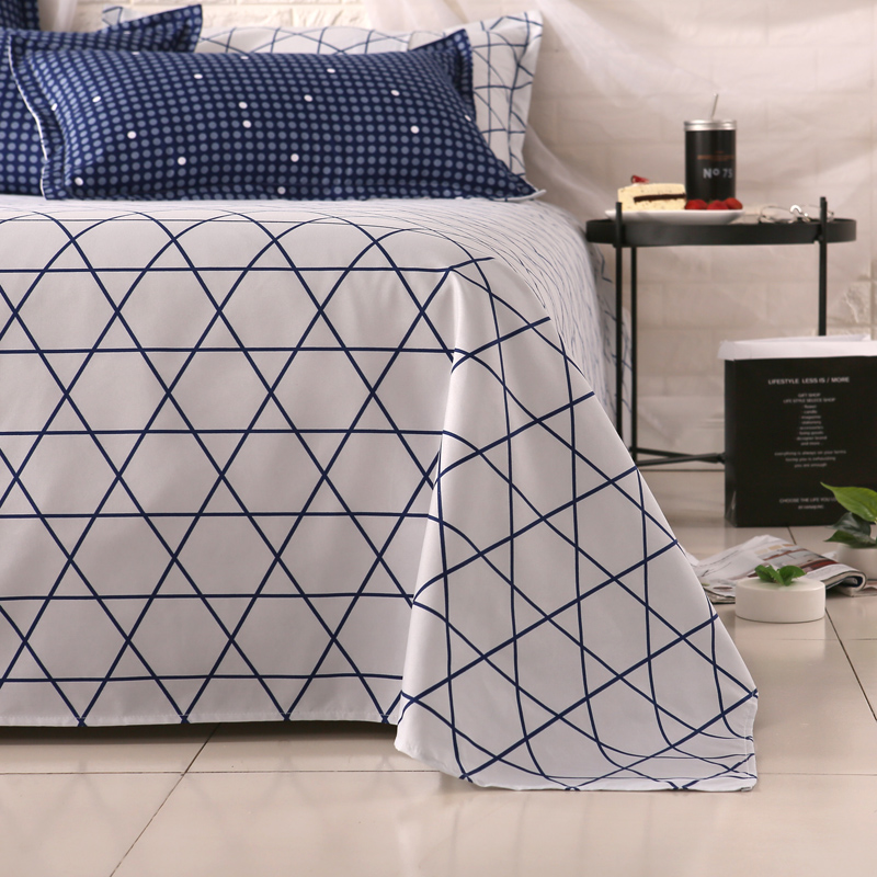 Cheap Printed Microfiber Bed Sheets Bed Linen