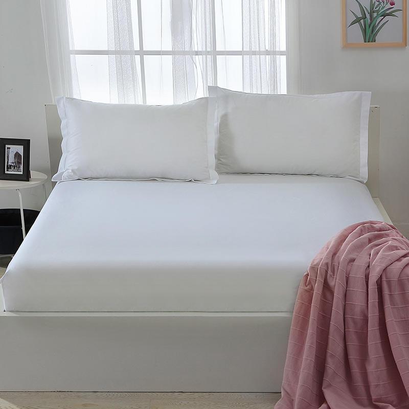 White Bedsheets , Cheap Cotton Sheet Set Wholesale , China Exporter