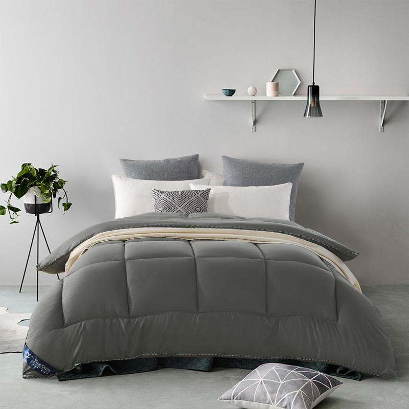 Plain Duvet , Soft Brushed Down Alternative Blanket