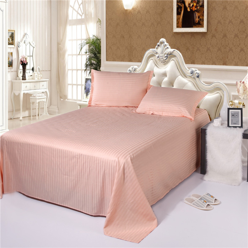 Cheap Sheets and Pillowcases ,100 Cotton Stripe Pattern , China Factory