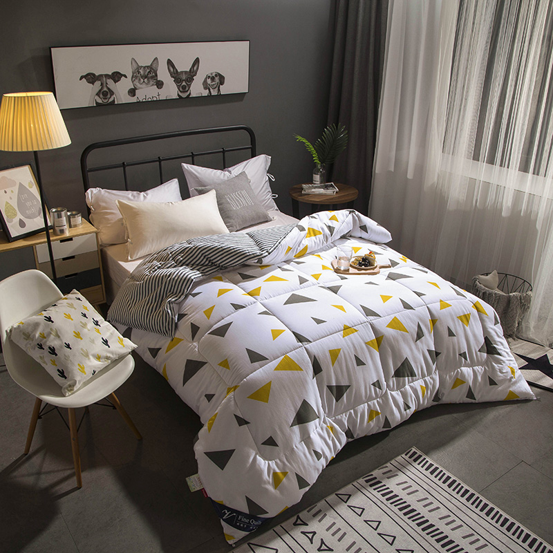 Printed Comforter Set ,Cheap Price with 2 Pillowcase