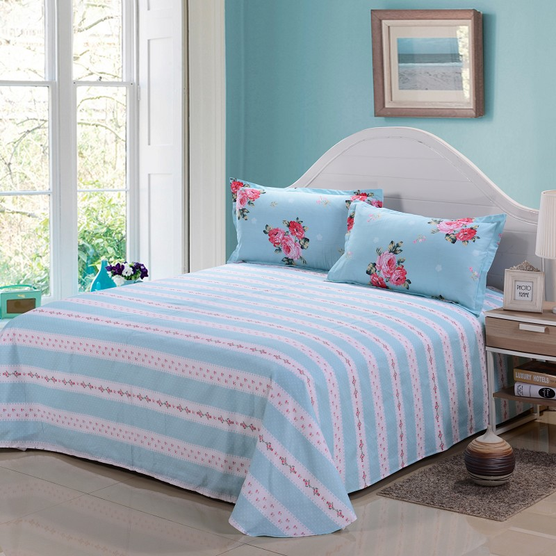 Hot Selling Printed Cotton Bedsheets and Pillow cases