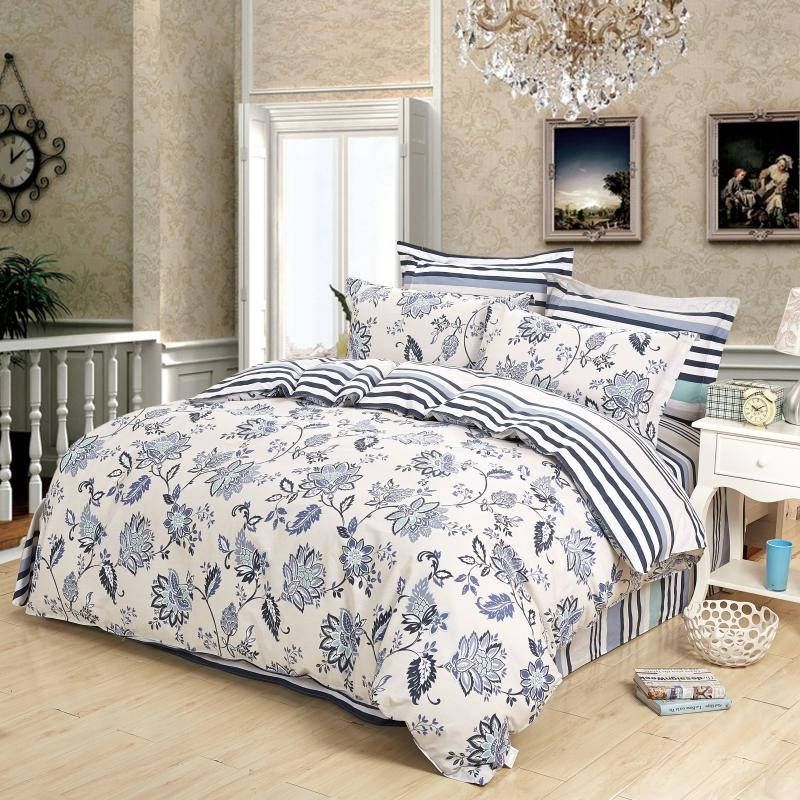 Cotton Duvet CoversIreland ,Single & Double Printed Floral Bed Cover