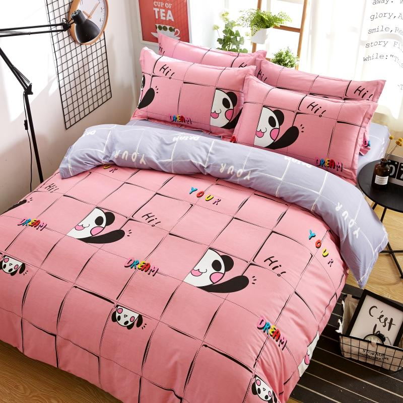 100 Cotton Bedding Set Queen King Brushed Cotton Duvet Covers