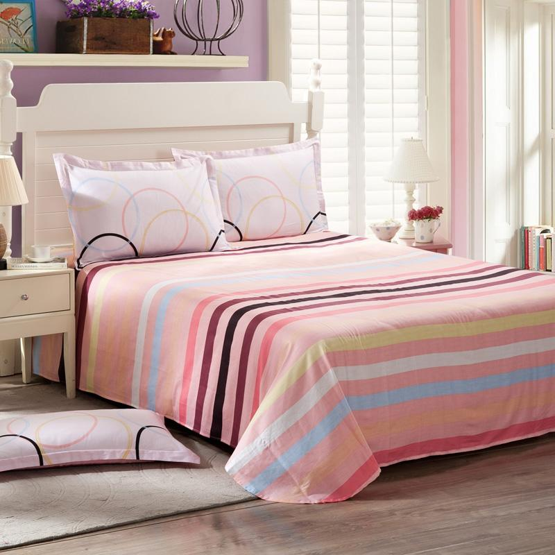 Sheets Bed linens in Printed Cotton ,Twin Full Queen King Size