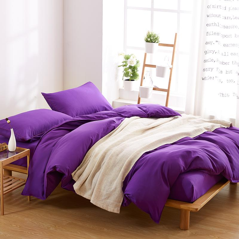 Solid Purple Duvet Cover, Wholesale Bed Linen from Winde Home
