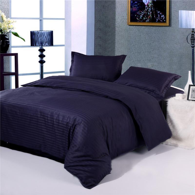 Satin Stripe Duvet Cover ,Hotel Bedding Company ,China Supplier