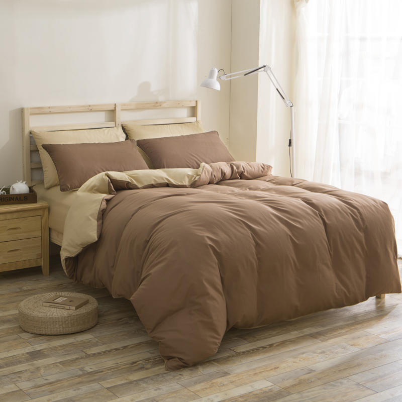 Solid Duvet Cover Sets , China Polyester Bedding Set Manufacture